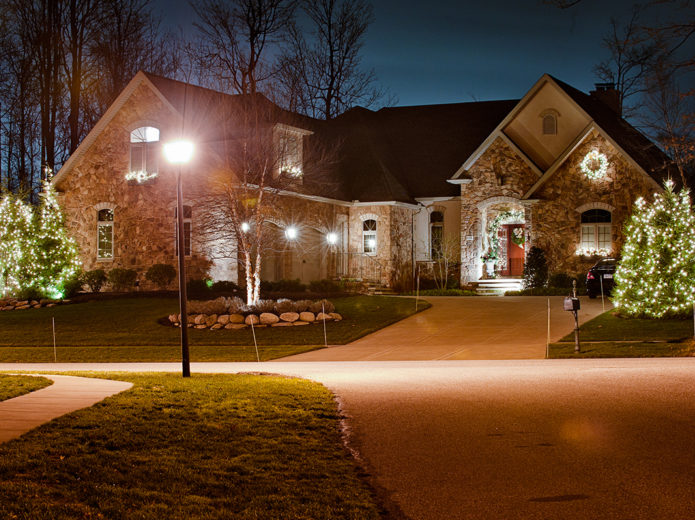 Holiday Lighting Weissearley Landscape Design Contracting